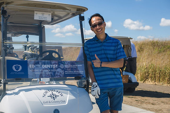 Village Golf Tournament Dr Ed Wong