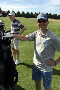Dr. Ed Wong at 2019 Village Church Golf Tournament